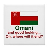 Omani - Good Looking Tile Coaster