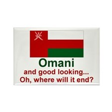 Omani - Good Looking Rectangle Magnet (10 pack)