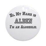 Alden Ornament (Round)