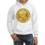 Gold Indian Head Hooded Sweatshirt