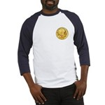 Gold Indian Head Baseball Jersey