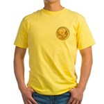 Gold Indian Head Yellow T-Shirt