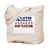 AMIR for dictator Tote Bag