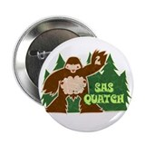 Sasquatch Bigfoot Button