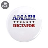 "AMARI for dictator 3.5"" Button (10 pack)"