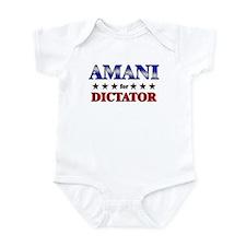 AMANI for dictator Onesie