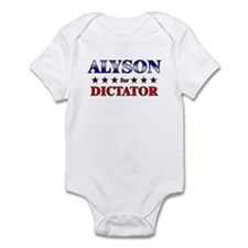 ALYSON for dictator Infant Bodysuit