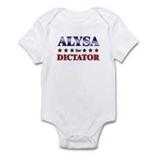 ALYSA for dictator Onesie