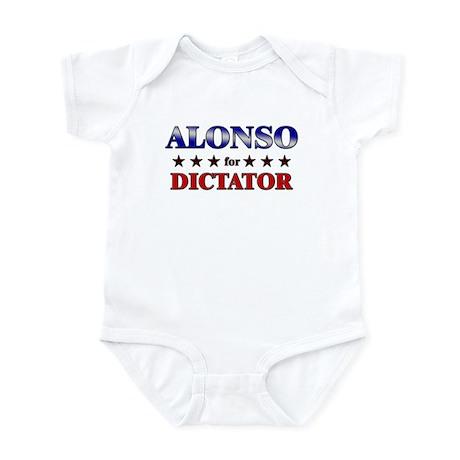 ALONSO for dictator Infant Bodysuit