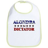 ALONDRA for dictator Bib