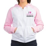 I Love Desperate Housewife Women's Raglan Hoodie