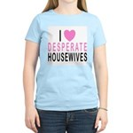 I Love Desperate Housewife Women's Pink T-Shirt