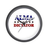 ALMA for dictator Wall Clock