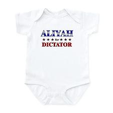 ALIYAH for dictator Infant Bodysuit