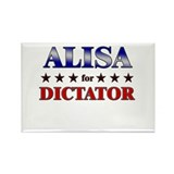 ALISA for dictator Rectangle Magnet