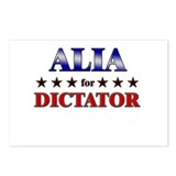 ALIA for dictator Postcards (Package of 8)