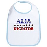 ALIA for dictator Bib