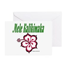 Hawaiian Merry Christmas Greeting Cards (Pk of 10)