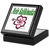 Hawaiian Merry Christmas Keepsake Box