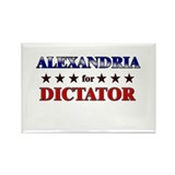 ALEXANDRIA for dictator Rectangle Magnet