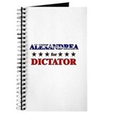ALEXANDREA for dictator Journal