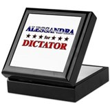 ALESSANDRA for dictator Keepsake Box