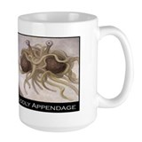 Flying spaghetti monster Large Mug (15 oz)