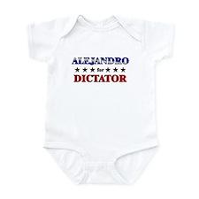 ALEJANDRO for dictator Infant Bodysuit