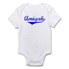 Amiyah Vintage (Blue) Infant Bodysuit