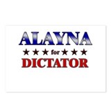 ALAYNA for dictator Postcards (Package of 8)