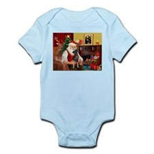 Santa'sMiniature Pinscher Infant Bodysuit