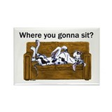 NH Where RU Gonna Sit? Rectangle Magnet (10 pack)