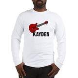 Guitar - Kayden Long Sleeve T-Shirt