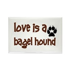 Love is a Bagel Rectangle Magnet (100 pack)