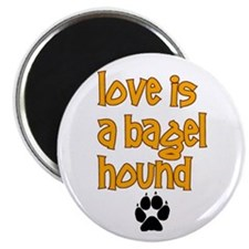 "Love is a Bagel 2.25"" Magnet (100 pack)"