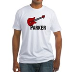 Guitar - Parker Fitted T-Shirt