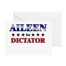 AILEEN for dictator Greeting Card
