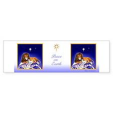 Lion & Lamb 'Peace on Earth' ~ Bumper Bumper Stickers