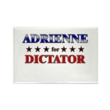 ADRIENNE for dictator Rectangle Magnet (10 pack)