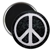 Original Vintage Peace Sign Magnet