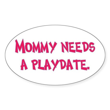 Gifts for Moms Oval Sticker