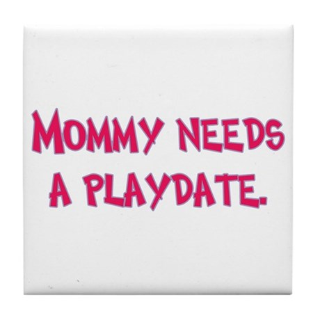 Gifts for Moms Tile Coaster