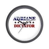 ADRIANE for dictator Wall Clock