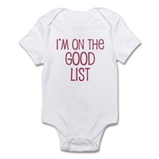 I'm on the Good List Infant Bodysuit