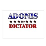 ADONIS for dictator Postcards (Package of 8)