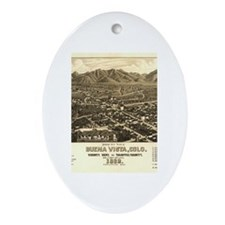 Buena Vista Oval Ornament