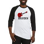 Guitar - Brayden Baseball Jersey