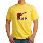 Guitar - Brayden Yellow T-Shirt