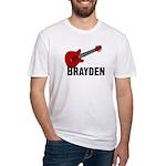 Guitar - Brayden Fitted T-Shirt