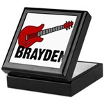 Guitar - Brayden Keepsake Box